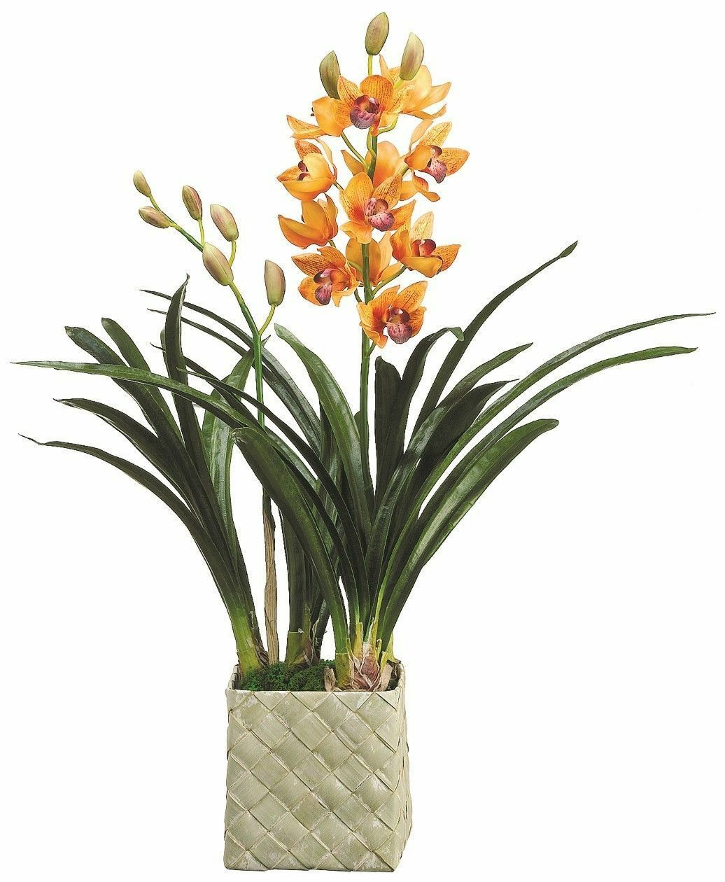 Artificial Fake Orchid Plants