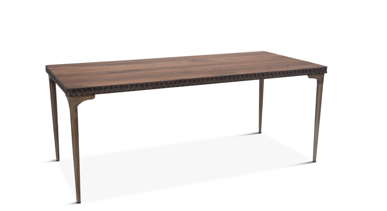 Hand Crafted Solid Mango Wood Dining Table