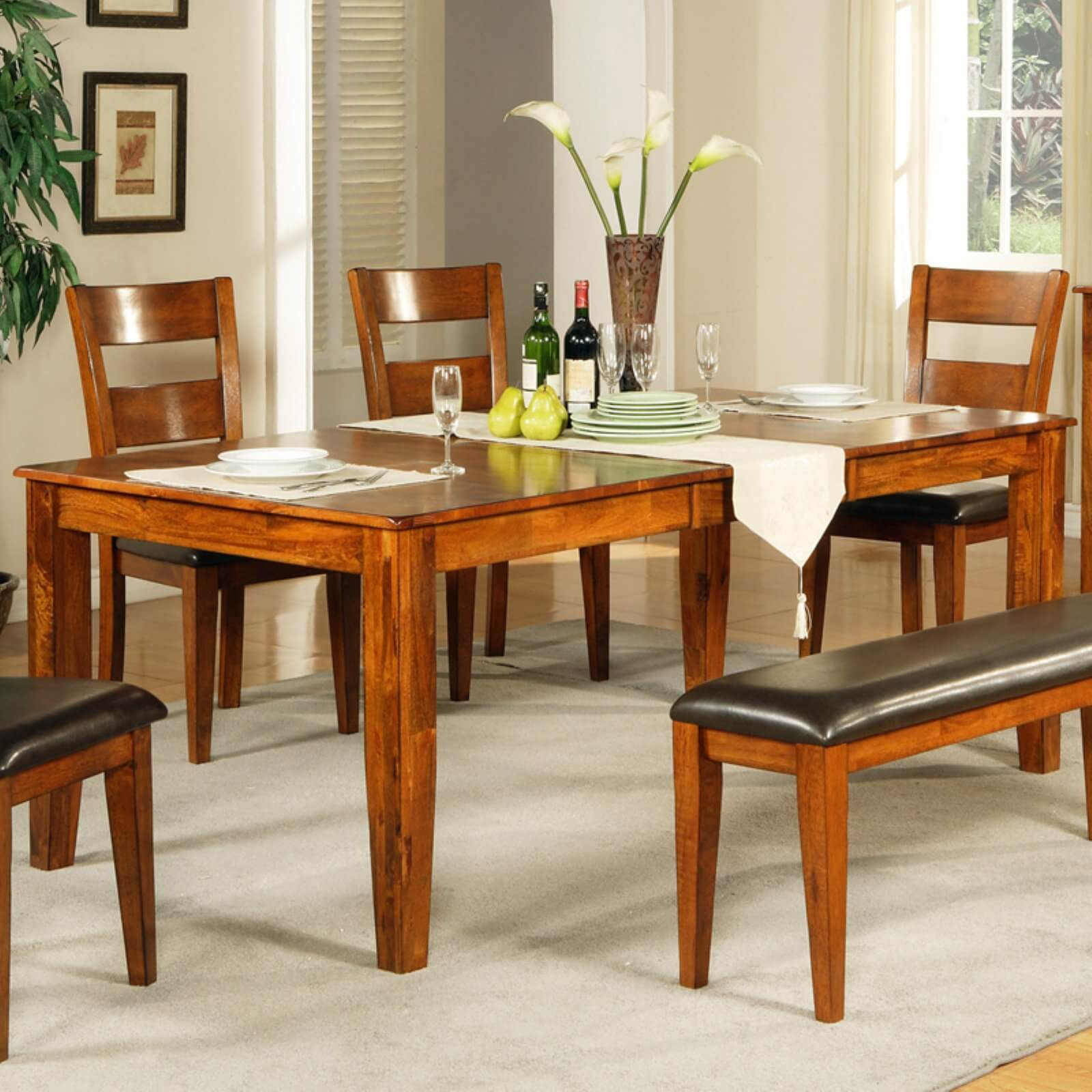Mango Butterfly Leaf Dining Table