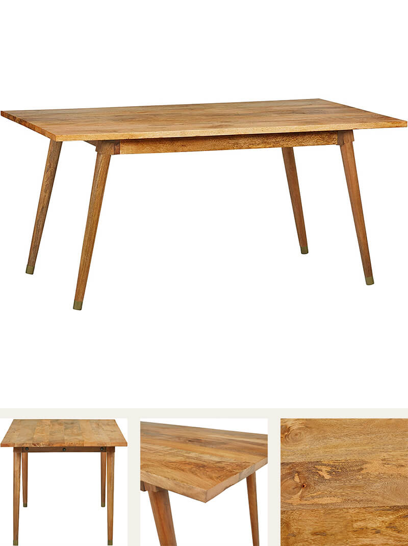Solid Mango Dining Table