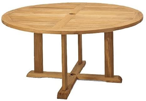 Grade-A Teak Wood Round Dining Table