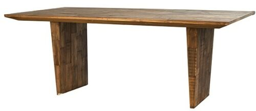 Recycled Teak Wood Modern Dining Table