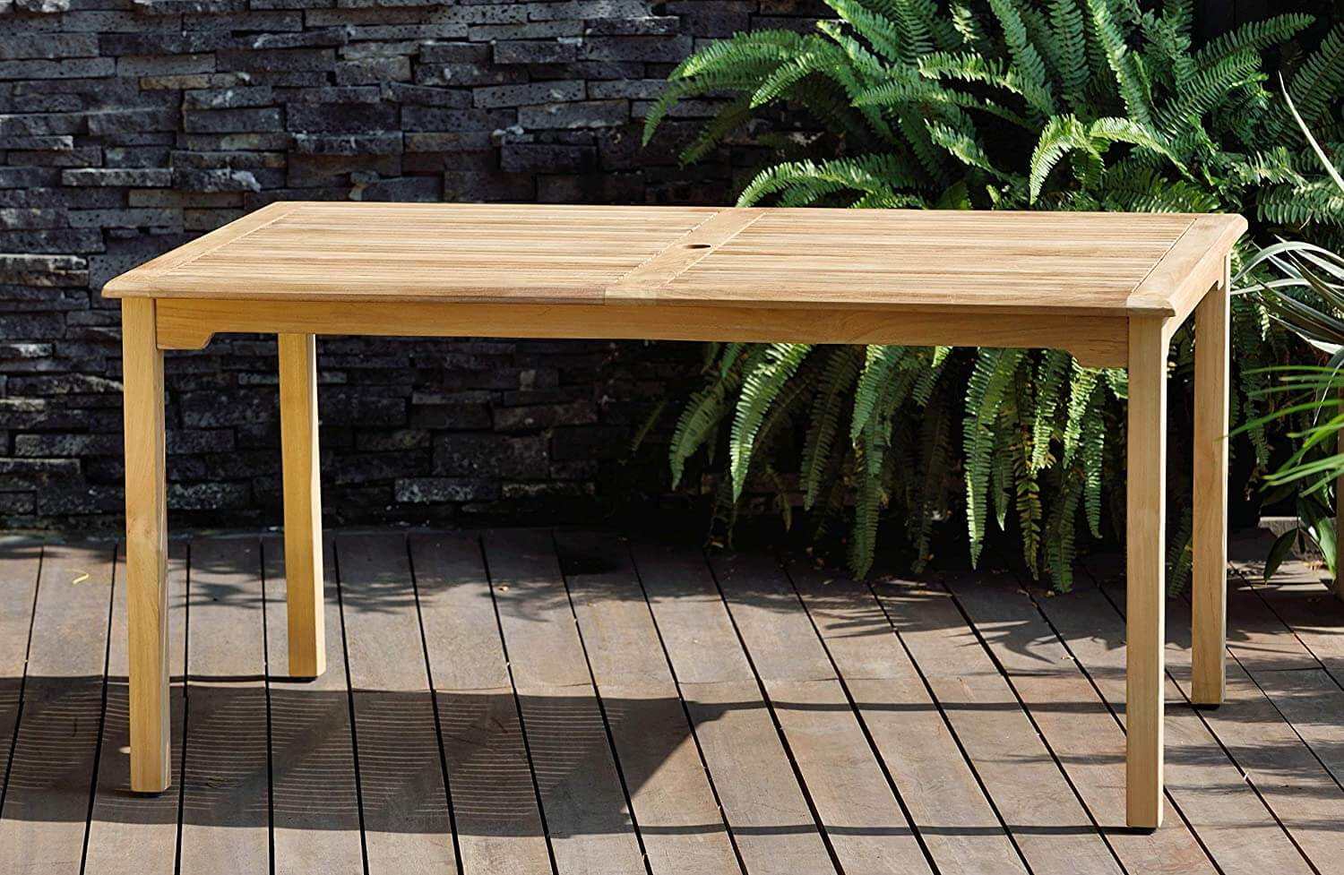 Indoor and Outdoor Teak Dining Table