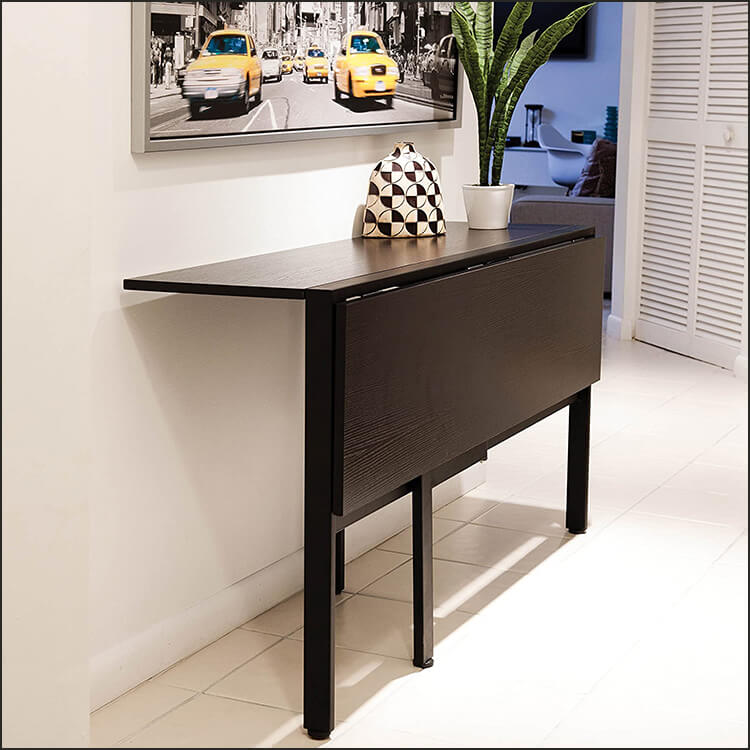 Folding Dining Table, Espresso