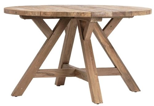 Recycled Teak Indoor and Outdoor Use Dining Table