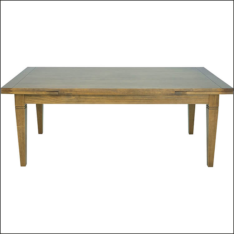 Honey Brown Extendable Dining Table