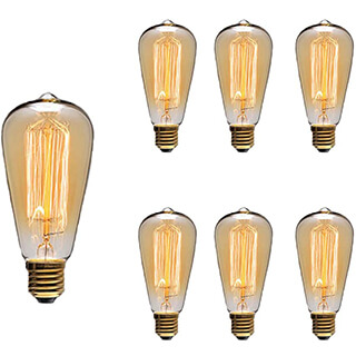 Antique Style Incandescent Light Bulbs