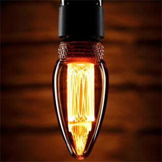 Vintage Retro Edison Style Decorative E14 Candle