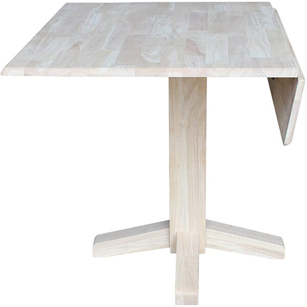Solid Wood Dual Drop Leaf Dining Table