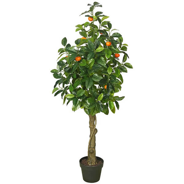 Real Touch Artificial Orange Tree (4 ft. 3 in)