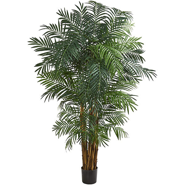 Tall Areca Palm Artificial Tree for Indoors and Outdoors (7 ft)