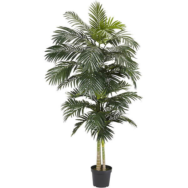 Tall Artificial Golden Cane Palm Tree (8 ft)
