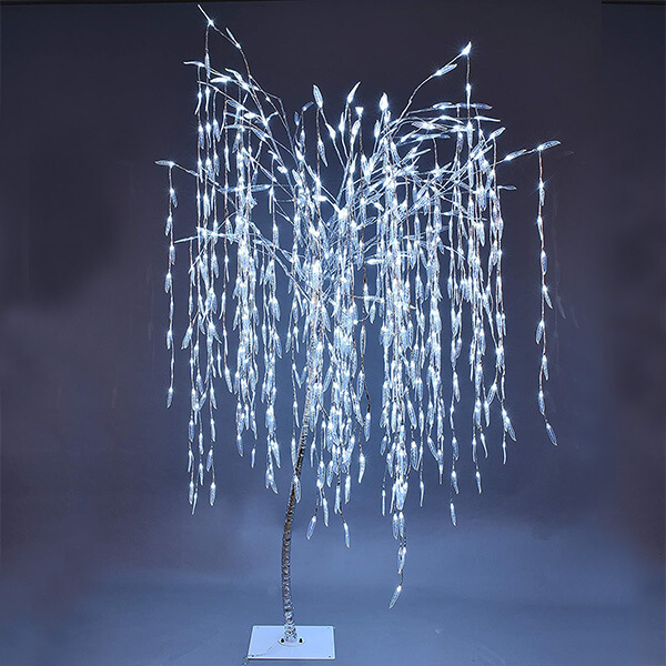 Weeping Willow Christmas Tree with 800 LED Lights (7 ft.)