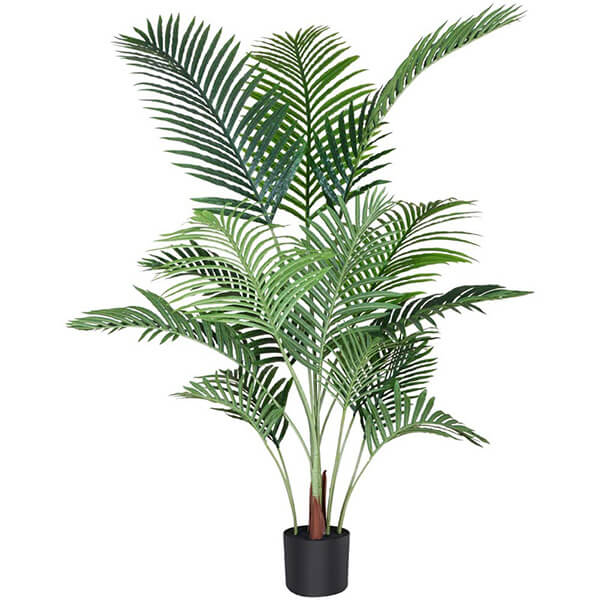 Areca Faux Palm Tree with 15 Detachable Branches (4 ft. 7 in)