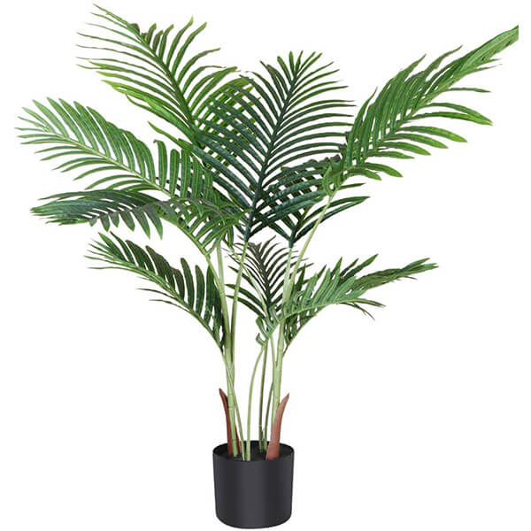 Faux Areca Palm Plant with 10 Bendable Branches (3 ft. 7 in)