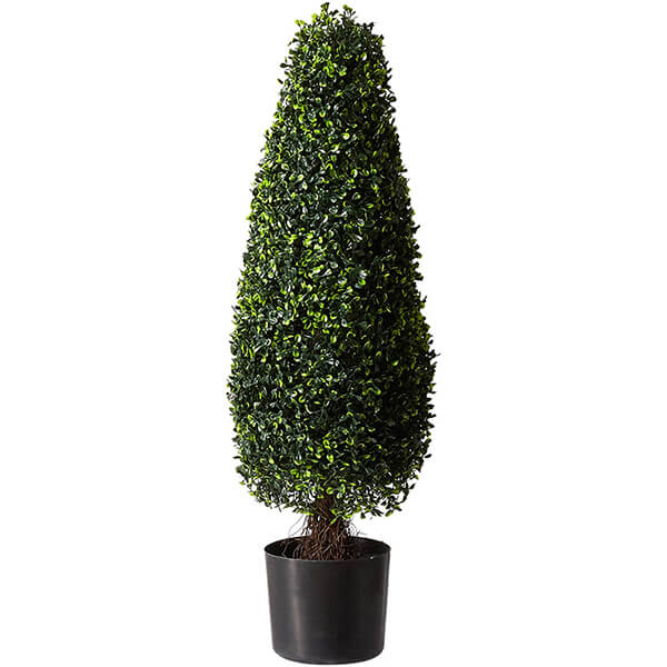 Tower Topiary Artificial Boxwood Plant for Outdoors (2 ft. 11 in)