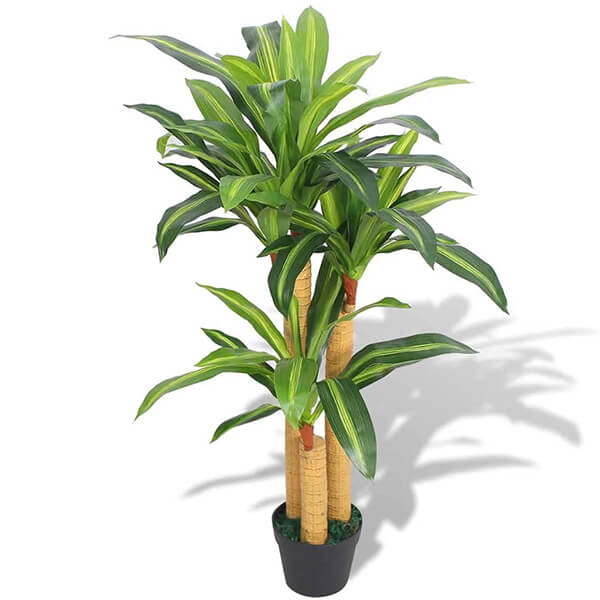 Artificial Dracaena Plant (3 ft. 3 in)