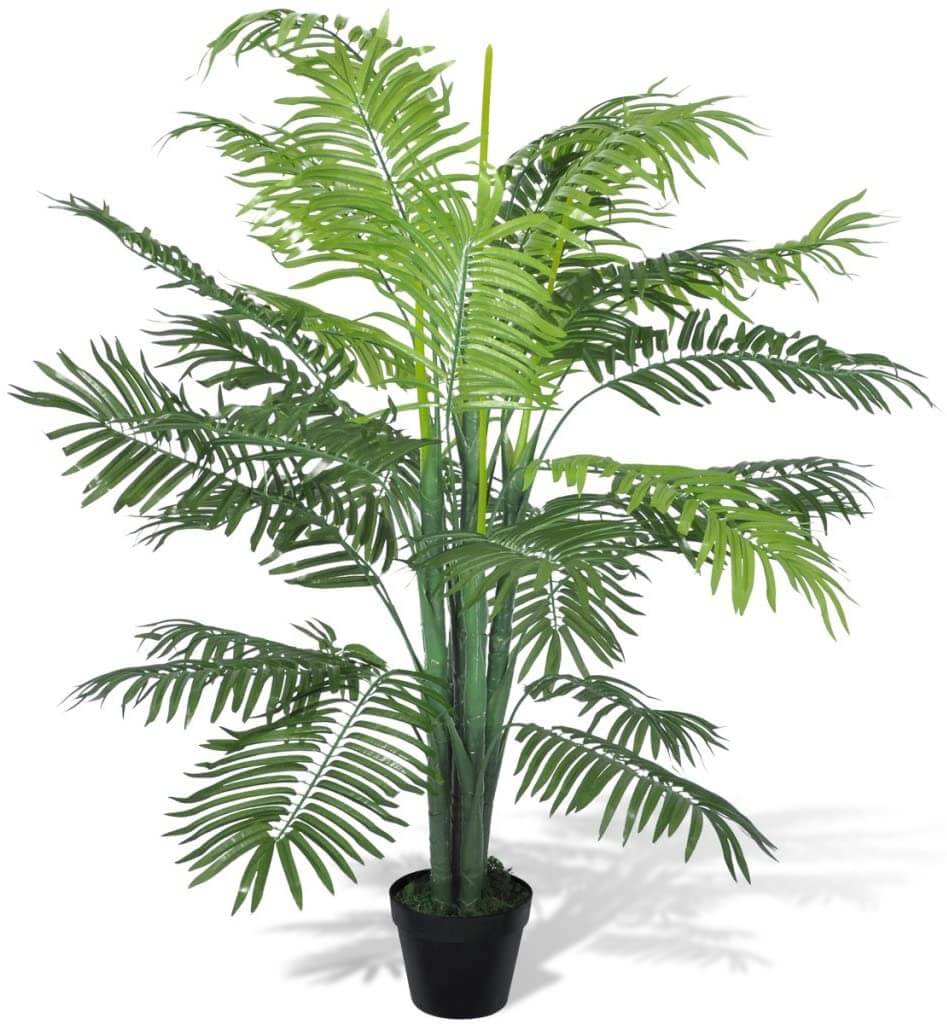 Artificial Parlor Palm Indoor Tree (4 ft. 3 in)