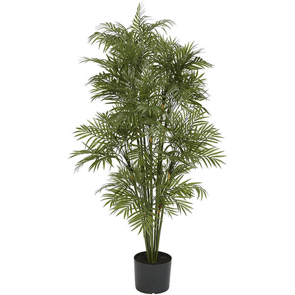 Plastic Palm Plant for Outdoors (4 ft.)