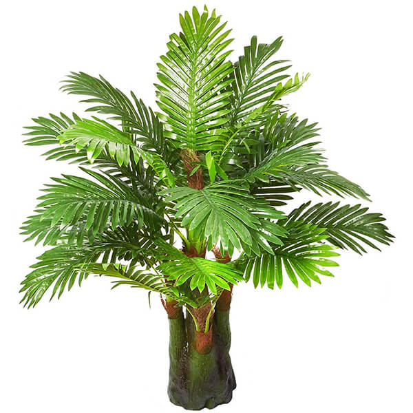 Outdoor Artificial Palm Tree UV Protected (3 ft. 3 in)