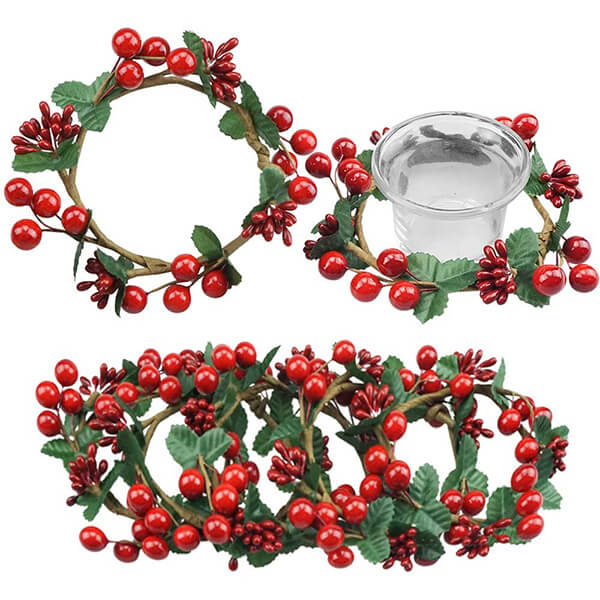 6 Pcs of Candle Rings at Low Prices