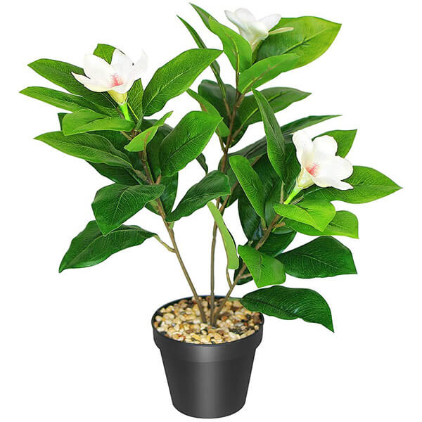 Tabletop Artificial Magnolia Plant (1 ft. 5 in)