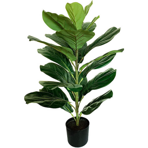 Real Touch Silk Fiddle Leaf Fig Plant (2 ft. 6 in)