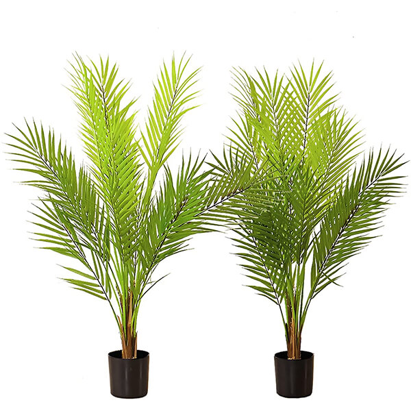Tabletop Artificial Palm Plant (2 ft. 9 in)