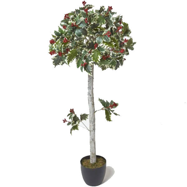 Artificial Holly Tree