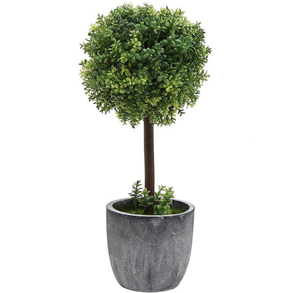 Faux Boxwood Tabletop Plants (1 ft.)