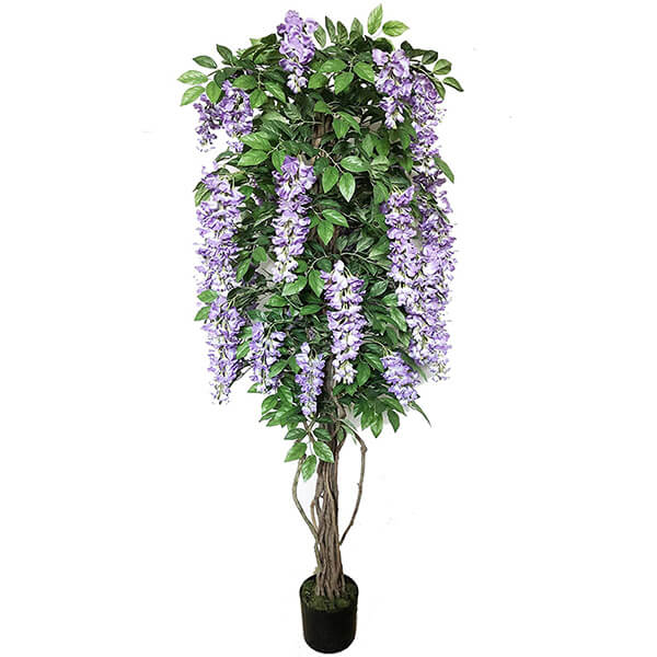 Tall Artificial Wisteria Tree (6 ft. 5 in)