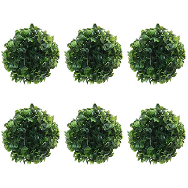 6 Pcs Pack of Topiary Balls at Low Prices (3.94 in)