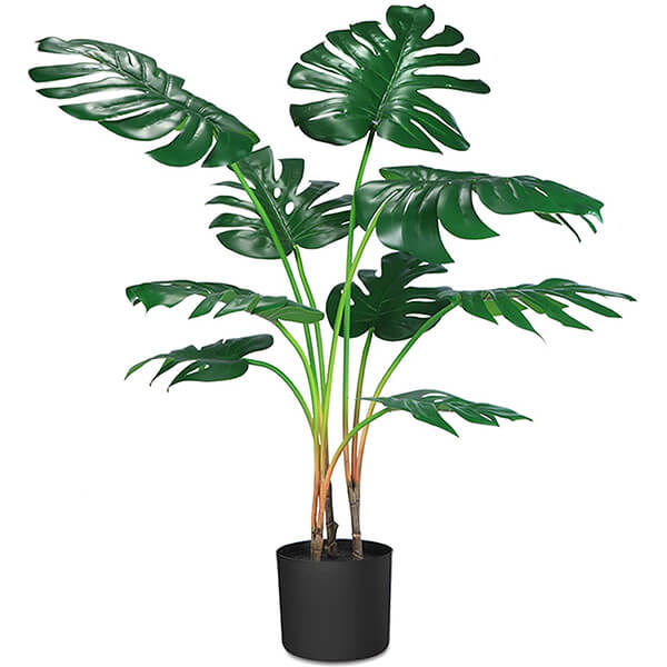 Artificial Monstera Plant (or Artificial Swiss cheese plant)