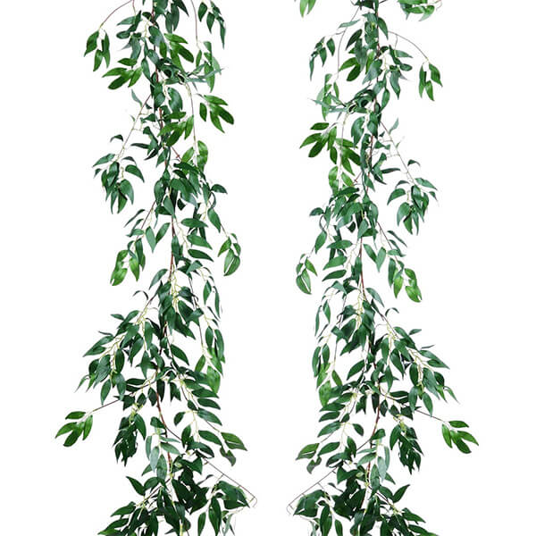 2 Pcs of Silk Artificial Willow Vines at Low Prices (5 ft. 8 in)