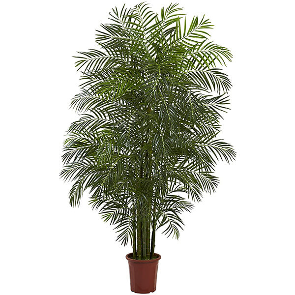UV Resistant Areca Palm Tree for Outdoors (7.5 ft)