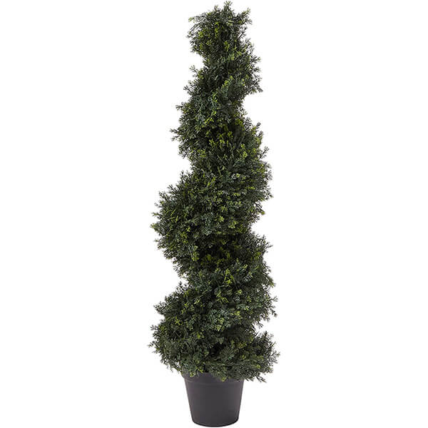 UV Resistant Artificial Cypress Tree for Outdoors and Indoors (4 ft)