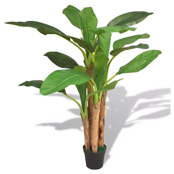 Indoor and Outdoor Fake Banana Plant (5 Ft. 9 in)