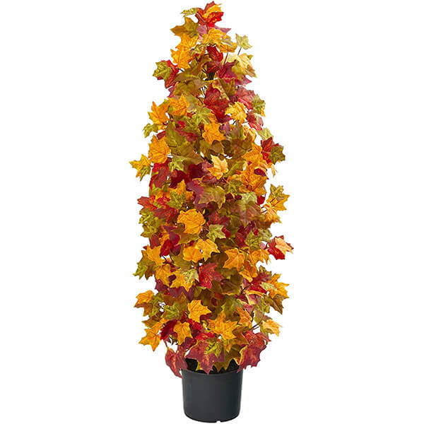 Colourful Artificial Maple Tree (3 ft. 3 in)