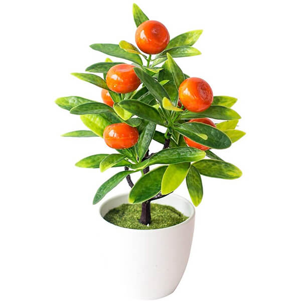 Tabletop Faux Orange Plant at Lowest Price (0 ft. 6 in)