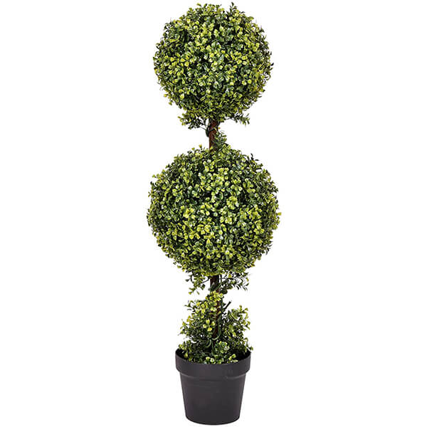 UV Resistant Artificial Boxwood Plant (3 ft.)