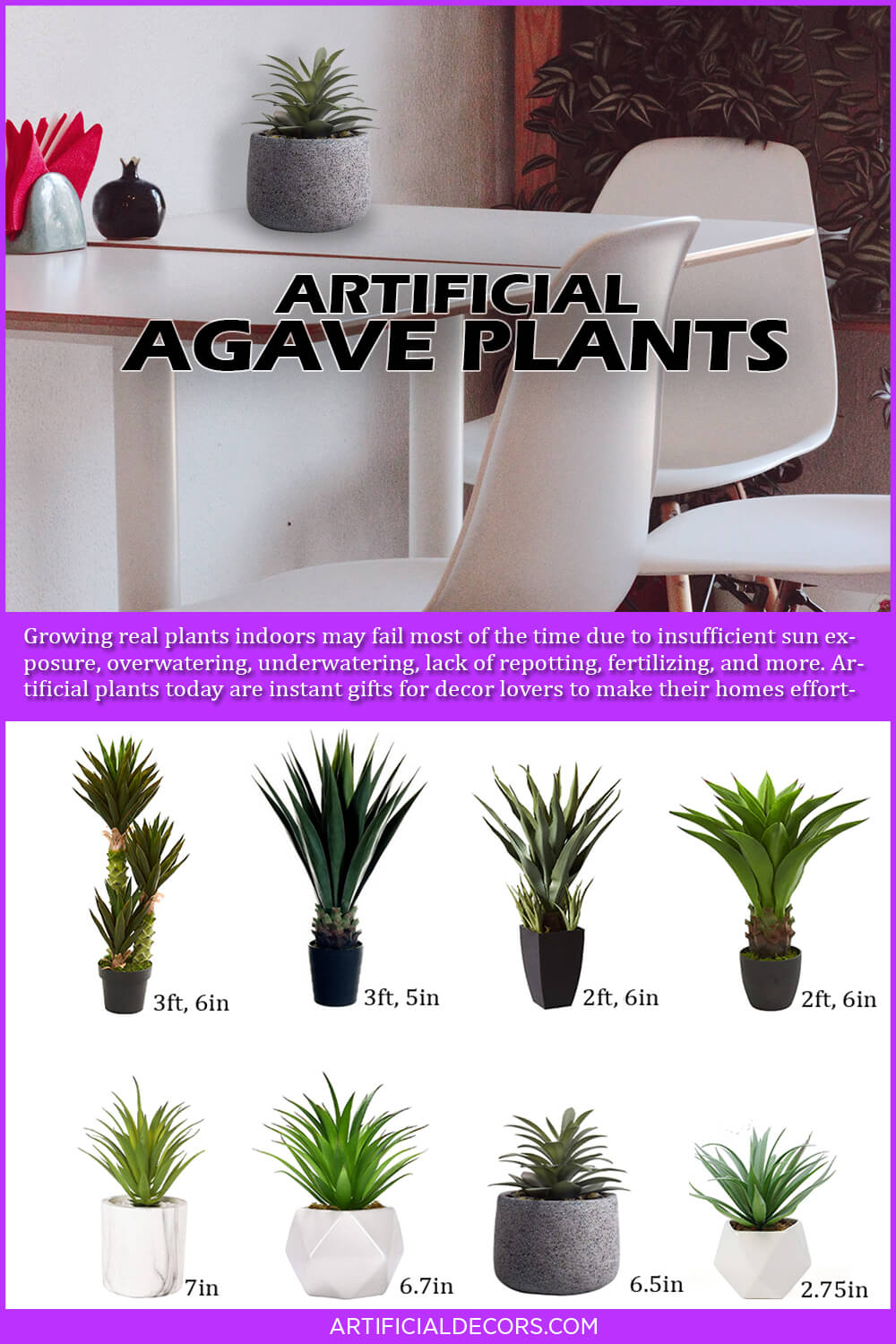 Best Artificial Agave Plant