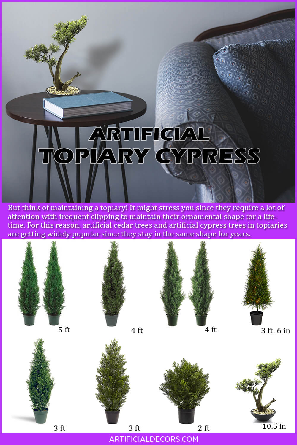 Best Artificial Topiary Cypress