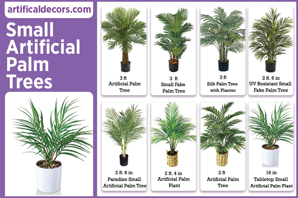 Small Artificial Palm Trees
